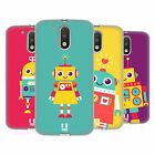 HEAD CASE DESIGNS ROBOT KIDS SOFT GEL CASE FOR MOTOROLA MOTO G4 / G4 PLUS
