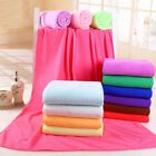 Large Microfibre Cotton Beach Bath Towel Sports Travel Camping Gym Sales