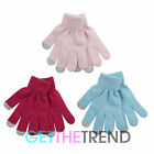 3 Pack Girls Kids Touch Screen Gloves Smart Phone Texting Winter Magic Gloves
