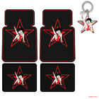 New Classic Betty Boop Red Star Car Truck Rubber Floor Mats Front / Rear $56.95 USD