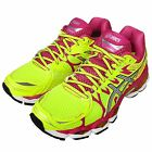 Asics Gel-Nimbus 16 Flash Volt Pink Womens Running Shoes Trainers T485N-0793