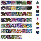 OR16 1000Pcs /10000Pcs Ordinary Flat Acrylic Rhinestone-3mm Triangle