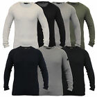 Mens Jumpers Dissident Waffle Knitted Sweater Pullover Lightweight Casual Winter