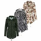 Brave Soul Festival Rain Mac Ladies Fishtail Lightweight Jackets In Three Styles