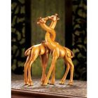Set of 2: Graceful Necks Intertwined Giraffe Love In the Wild Statues
