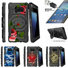 For Samsung Galaxy Note 7 N930 Clip Holster Stand Case Affectionate Flowers