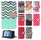 For Kyocera Hydro Shore Premium Leather Wallet Case Pouch Flip Phone Cover