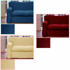 Plain Dyed Polyester 1 to 2 Seater OR 2 to 3 Seater Sofa Couch Cover
