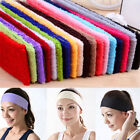 New Practical Sweatband Cotton Headbands Yoga/Gym/Workout Sweatbands Terry Cloth