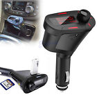 Car Kit MP3 Player Wireless FM Transmitter Modulator USB SD LCD Remote Charger G