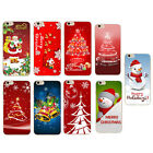 Merry Christmas Painted Phone Hard Skin Case Cover For iPhone5 6 6Plus EW
