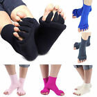 Yoga GYM Massage Open Five Toe Separator Sock Foot Alignment Pain Relief CHIC
