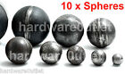 10 x Hollow Spheres / Cannon Balls x 2.5 mm 10 Sizes -Metalwork Sheet Metal Weld