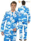 Mens Stand Out Suit Stag Fancy Dress Costume Party Outfit Halloween Comedy