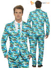 Mens Stand Out Suit Stag Do Fancy Dress Party Outfit Funny Comedy Costume Adult