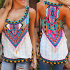Fashion Womens Summer Vest Top Sleeveless Shirt Blouse Casual Tank Tops T-Shirt