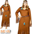 Indian Summer Plus Size XL Ladies Fancy Dress Western Adults Womens Costume New