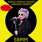 BLONDIE DEBBIE HARRY -58 mm BADGE-FRIDGE MAGNET OR MIRROR #234