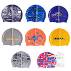 YINGFA Adult stylish Silicone design swim Swimming bathing cap