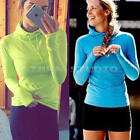 New Women Fitness Long Sleeve T Shirt Comfortable Gym Sports Top Hoodie S-L