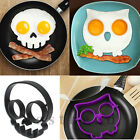 Silicone Egg Fried Shaped Mould Shaper Ring Kitchen Cooking Tool Owl Skull