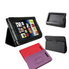Magnetic Closure PU Leather Case Protect Cover for  Nook Tablet/ Nook Color