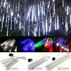 Hot 20/50CM 80/240LED Meteor Shower Rain Tube String Lights Christmas Decoration