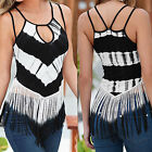 Fashion Women Summer Sleeveless Vest Top Shirt Blouse Casual Tank Tops T-Shirt