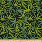 HERB GREEN ALEXANDER HENRY SEWING CRAFT QUILT FABRIC Free Oz Post