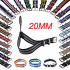 20mm Colorful Nylon Watch Strap Free shipping