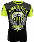AMERICAN FIGHTER Mens T-Shirt ELMHURST ARTISAN Athletic BLACK Biker Gym UFC $40 image
