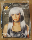 Adult Black/White Wild Wig