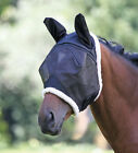 SHIRES FIELD DURABLE FLY MASK HALF FACE END OF SEASON CLEARANCE SALE (6658)