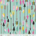 LUCKIE ARROWS BLEND BLUE SEWING CRAFT QUILT FABRIC Free Oz Post