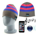 Warm Smart Soft Music Beanie Hat with Built in Wireless Bluetooth Headphones EW
