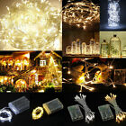 10M 100LED String Fairy Lights Battery Operated Christmas Party Room Decor DIY