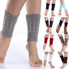 AUTUMN Womens Warm Knitted Thick short Boot Cuff Leg Warmers Ankle Fashion Socks