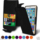 Clip On Spring Loaded Leather Flip Case Cover For  LG X Skin