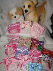 Xsmall Reusable Female dog Diapers,Lots of ribbon & lace! Many colors available!