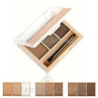Meloision 3Color Perfect Makeup EYE BROW Kit - 3 Powders Brush & Mirror SET
