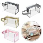 cosmetics travel bag - Waterproof PVC Zip Pouch Kit Transparent Clear Travel Cosmetic Wash Bag Storage