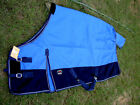1200D Turnout Waterproof Rain Horse SHEET Light Winter Blanket Blue 301
