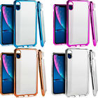 For LG X Power Rubber IMPACT TRI HYBRID Hard Case Skin Phone Cover +Screen Guard