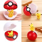 7cm Pokemon Pokeball Pop-up Cosplay Master Ultra GS Ball&Pikachu S0BZ