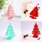 3D Christmas Greeting Card Christmas Tree Snowman Thanksgiving Halloween New