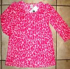 NWT GAP Kids Girls Leopard Cheetah MicroFleece Nightgown Sleep PJs 4  NEW