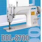 JUKI DDL-8700 Sewing Machine Complete Set With Stand, Motor & Lamp - TESTED