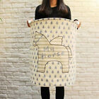 Zakka Cartoon Storage Bag Toy Clothes Laundry Baskets Clothing Organizer XHH8097