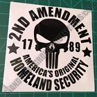 Second Amendment Original Homeland Security 2A Patriotic American Decal Sticker