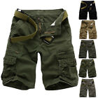 Fashion Men's Casual Army Cargo Combat Camo Sports Pants Summer Shorts Trousers